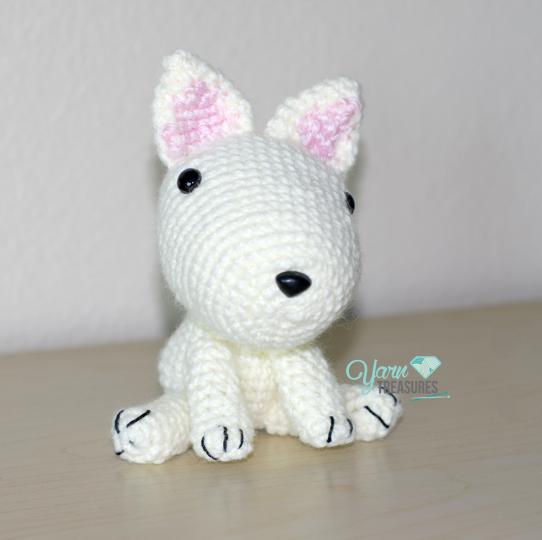 Fox Terrier Amigurumi Patron : Gallery - Yarn Treasures