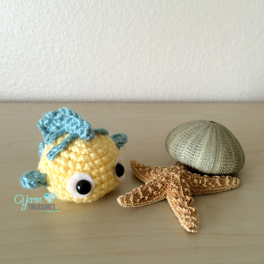 Free Amigurumi Ball Pattern : Flounder Ball Free Pattern - Yarn Treasures