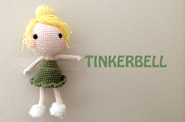 Crochet Tinkerbell Doll Yarn Treasures