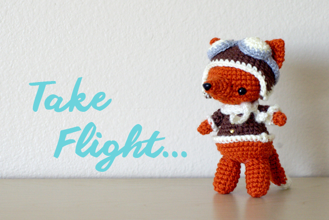 Fox Amigurumi Ravelry : Free Aviator Fox Pattern - Yarn Treasures