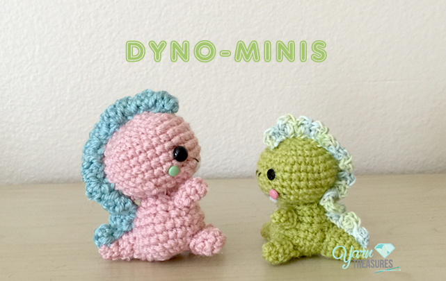 Free Dinosaur Pattern Yarn Treasures