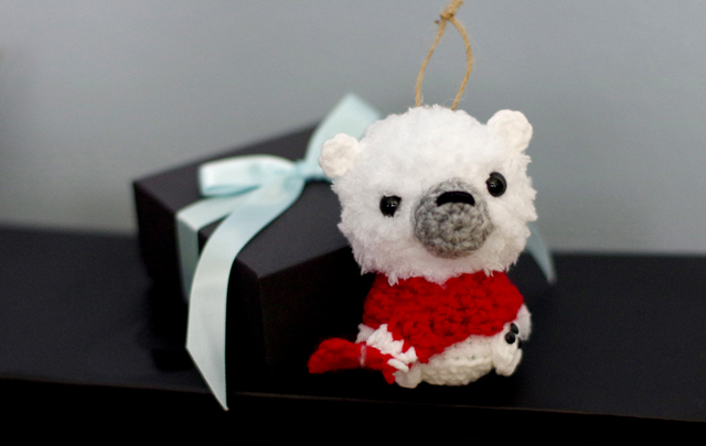 Polar Bear Ornament gift
